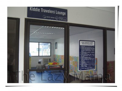 Manila Domestic Airport Kiddie Traveler's Lounge